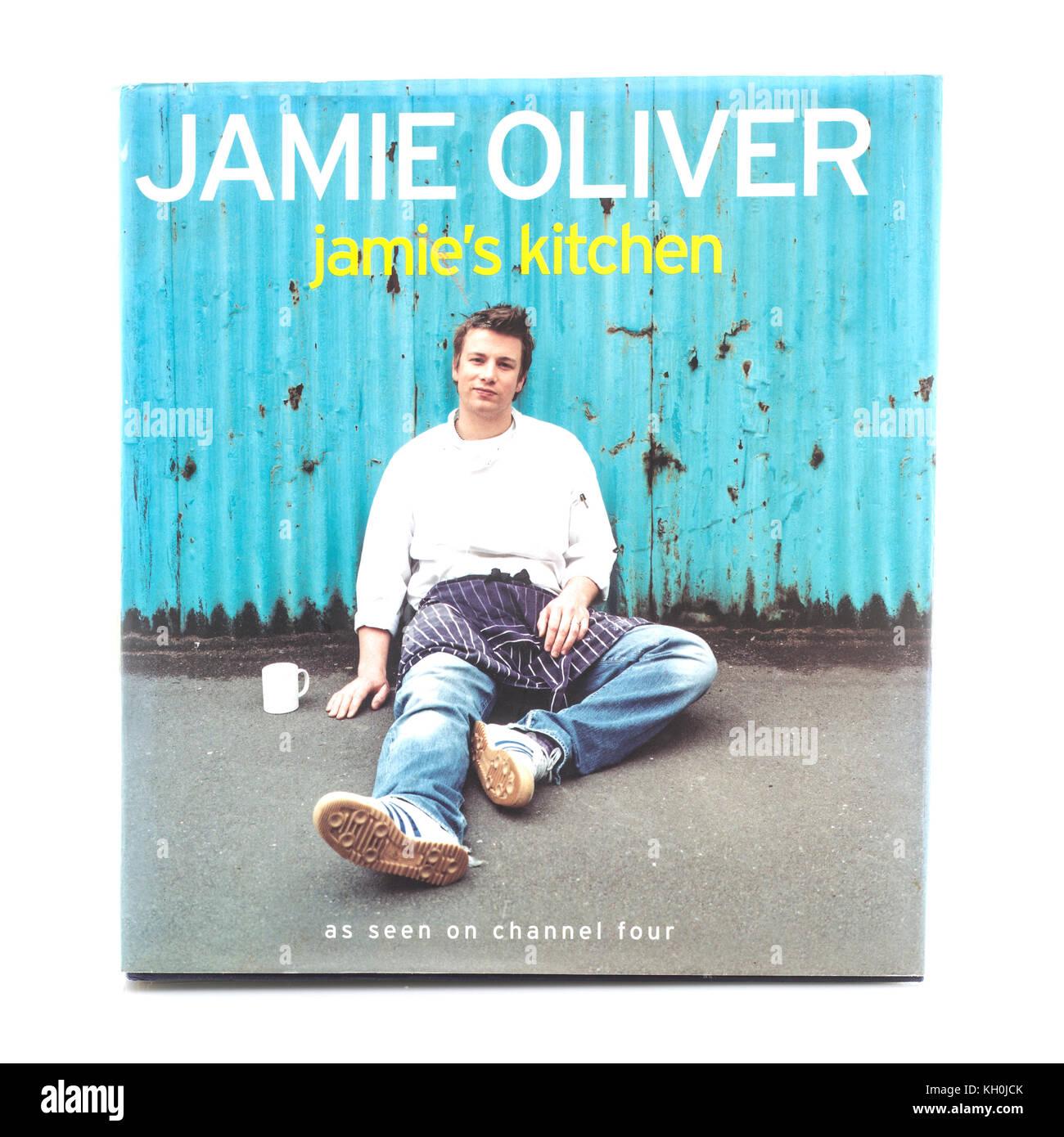 SWINDON, UK - NOVEMBER 11, 2017: Jamie Olivers Jamie\'s Kitchen Cook ...