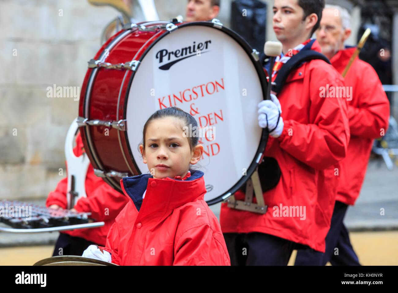 City of London, UK. 11th Nov, 2017. The 2017 Lord Mayor's Parade, an 800 year old custom, sees the traditional - Stock Image