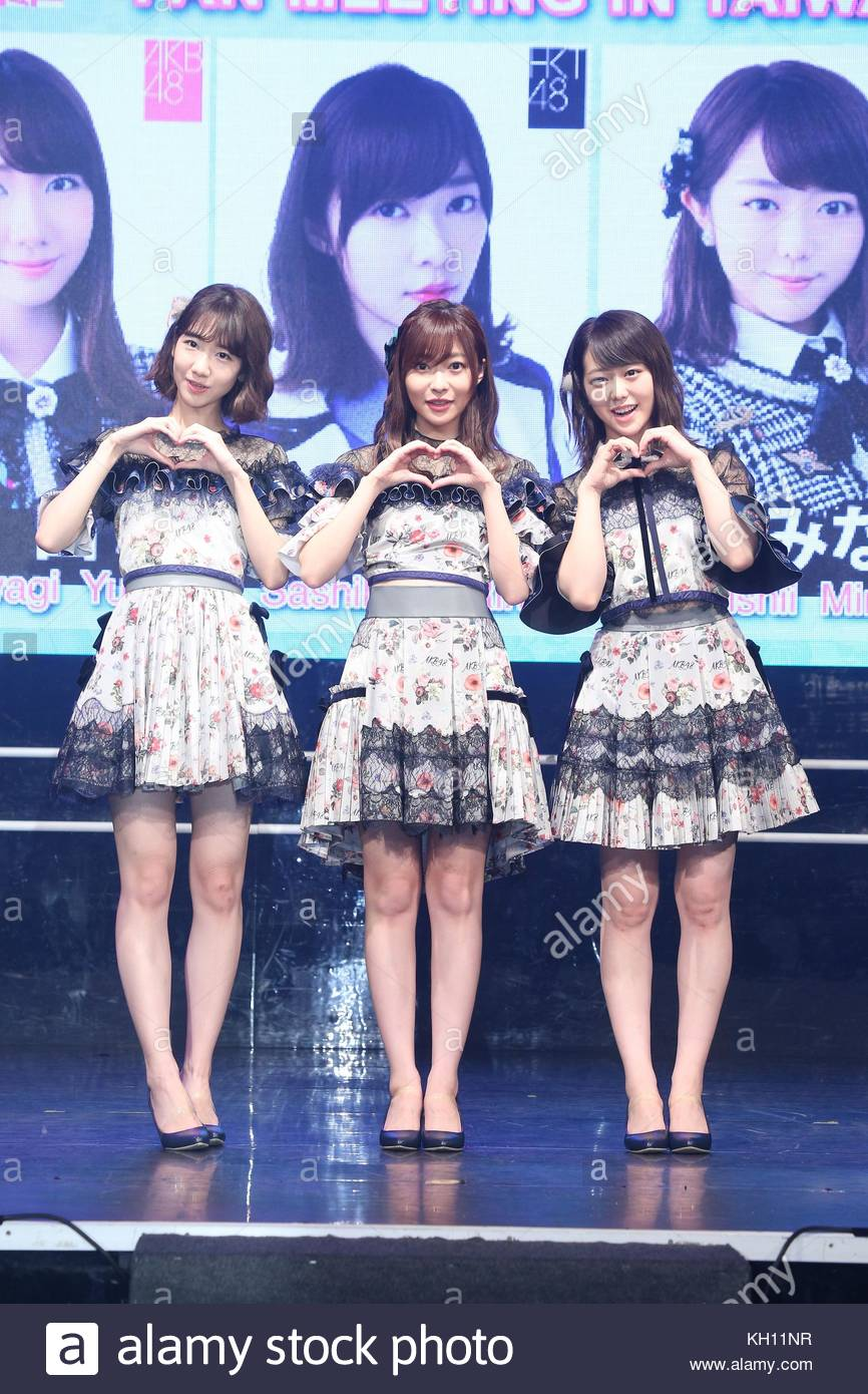 Taipei  11th Nov, 2017  HKT48 member Rino Sashihara comes to Taiwan