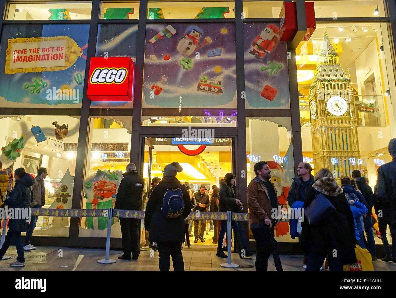 Lego Store, Leicester Square, London - Stock Image