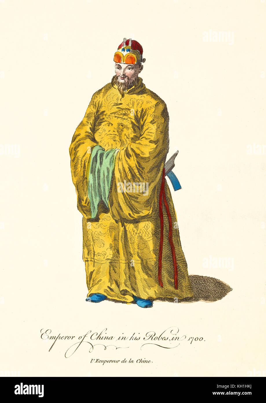 Ancient Chinese Emperor Drawing High Resolution Stock Photography And Images Alamy