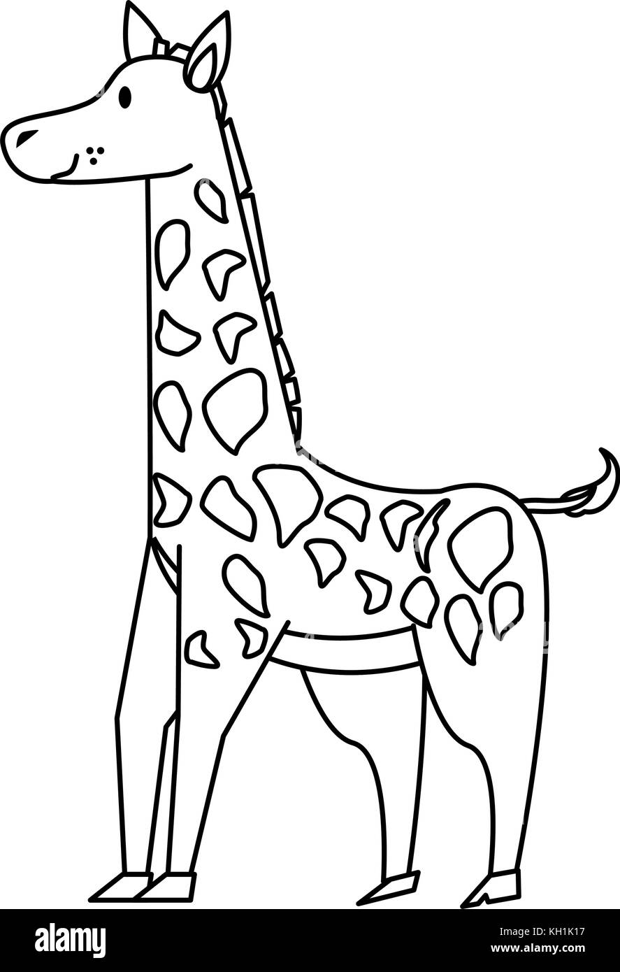 coloring pages of baby giraffes.html