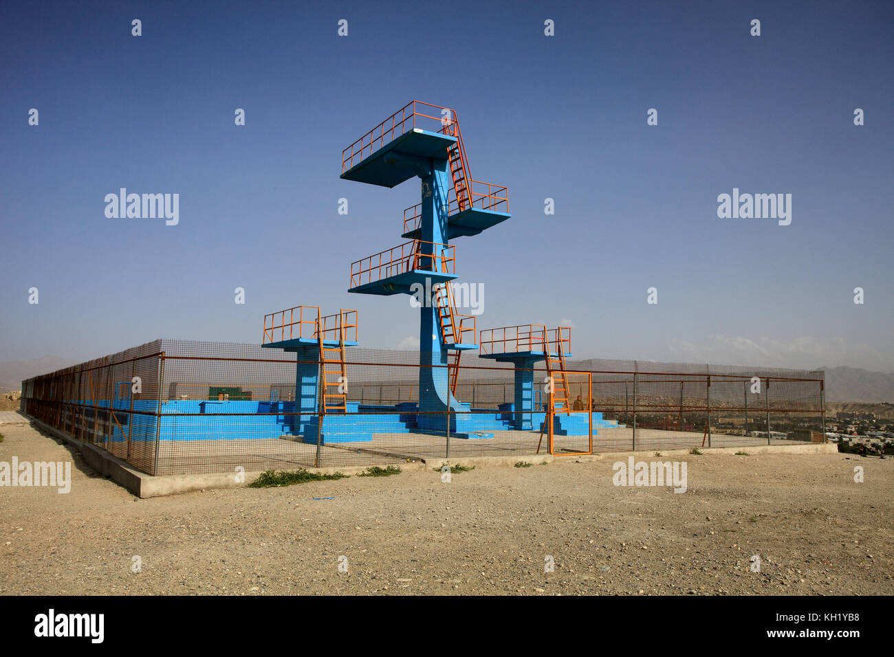 Diving board olympics stock photos diving board olympics - How many olympic sized swimming pools in uk ...