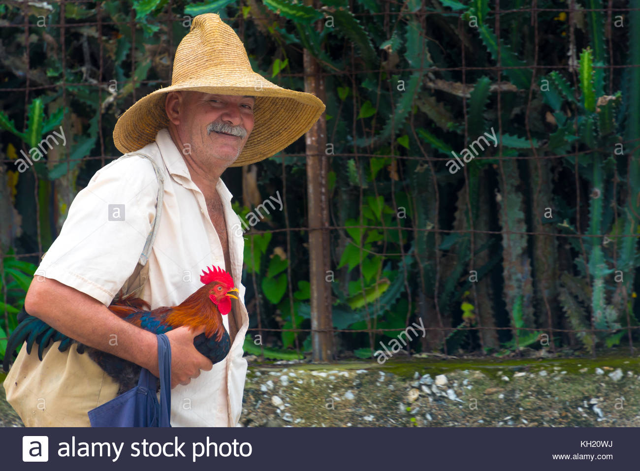 Santa Clara, Cuba: Real Cuban people lifestyle or way of life in the Caribbean Island. Candid Images - Stock Image