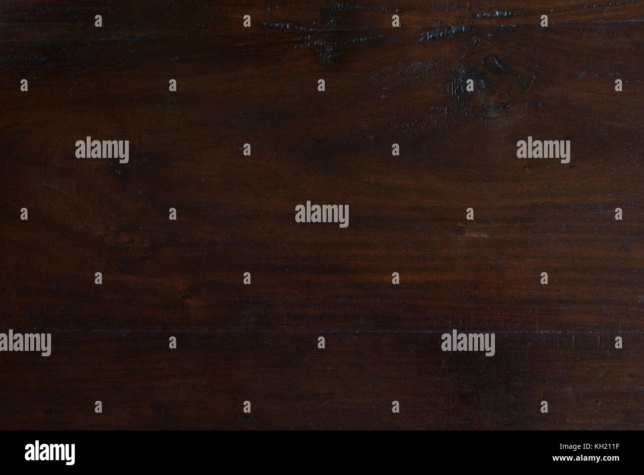 texture background of rustic dark Indonesian teak wooden board - Stock Image