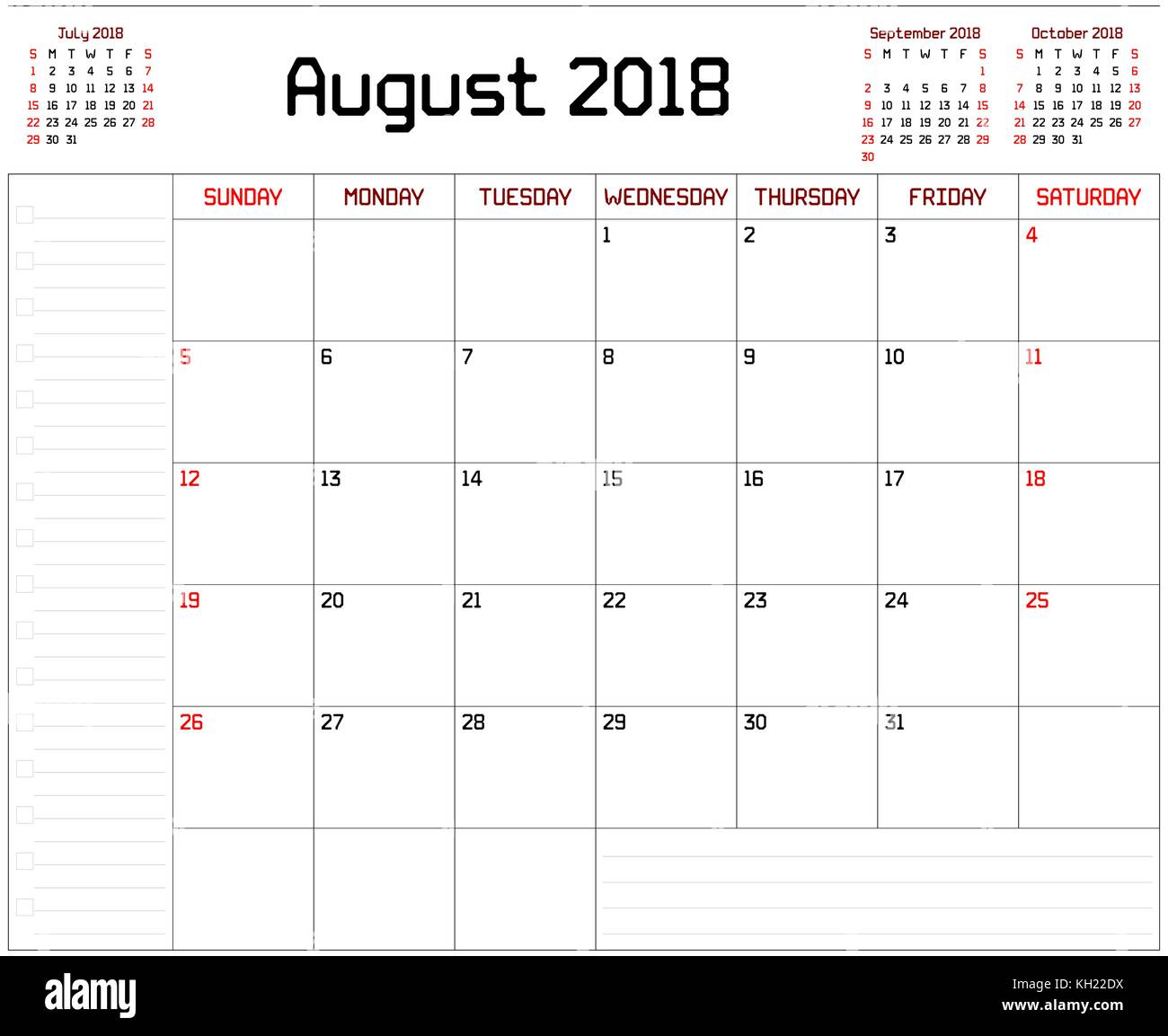 May Calendar This Year : Year august planner a monthly calendar for