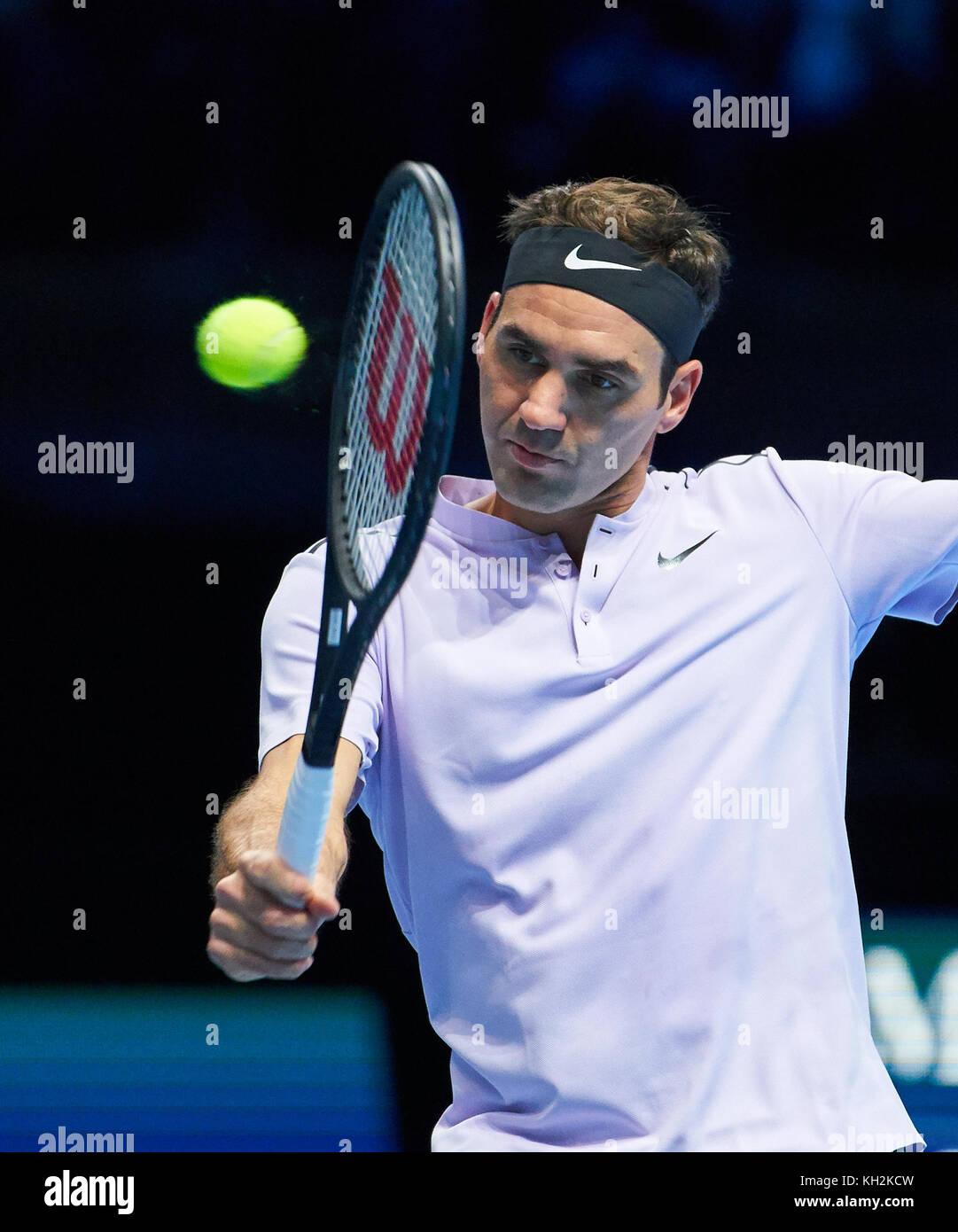 Atp Tennis London November 13 2017 Roger Federer Sui In Stock Photo Alamy