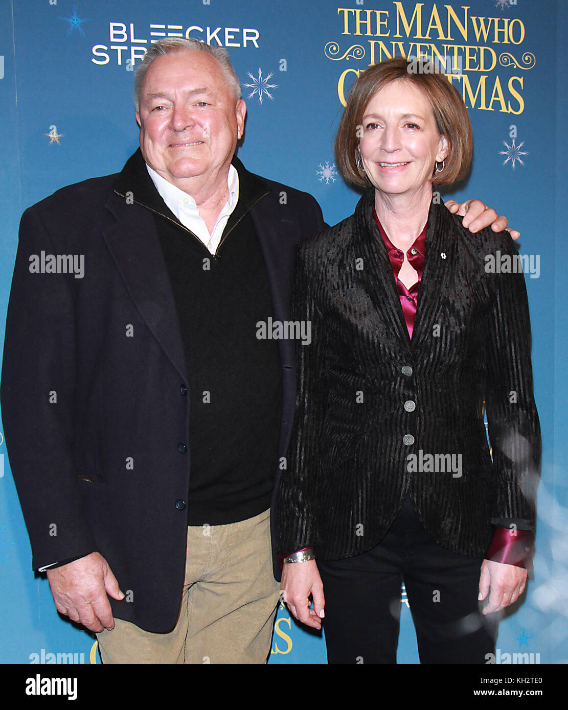 New York, USA. 12th Nov, 2017. 2017Les Standiford, Susan Coyne, attend Bleecker Street present a special screening - Stock Image