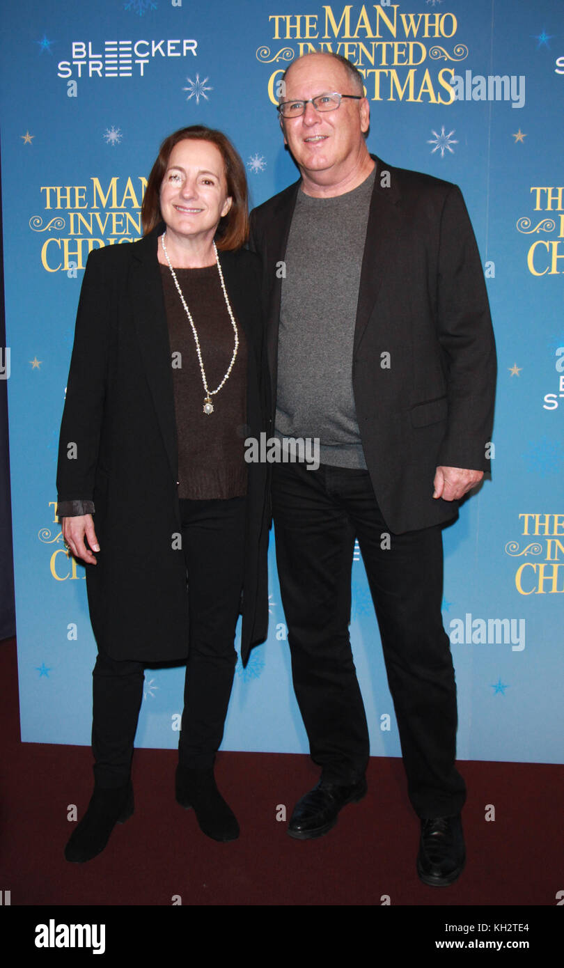 New York, USA. 12th Nov, 2017. New York, NY, USA. 12th Nov, 2017. Susan Coyne, Robert Mickelson attend Bleecker Stock Photo