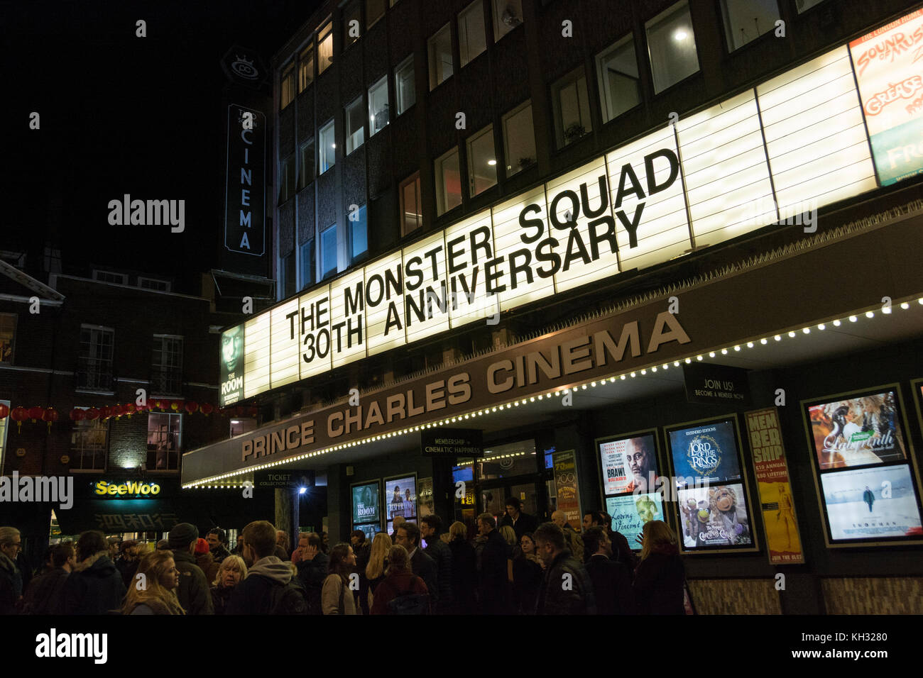 The Monster Squad at Prince Charles Cinema, off Leicester Square, in London's West End, UK - Stock Image