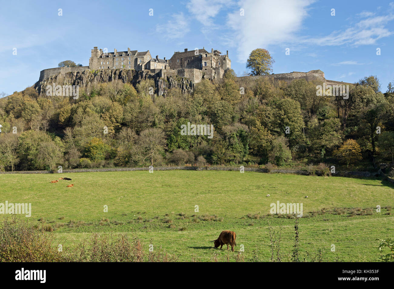 Stirling Castle, Stirling, Scotland, Great Britain - Stock Image