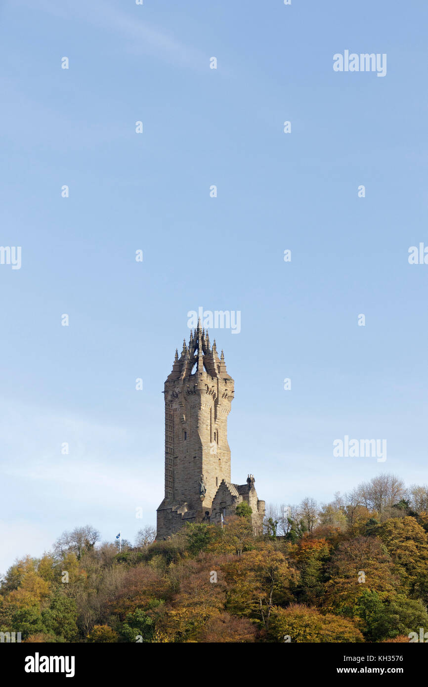 Wallace Monument, Stirling, Scotland, Great Britain - Stock Image