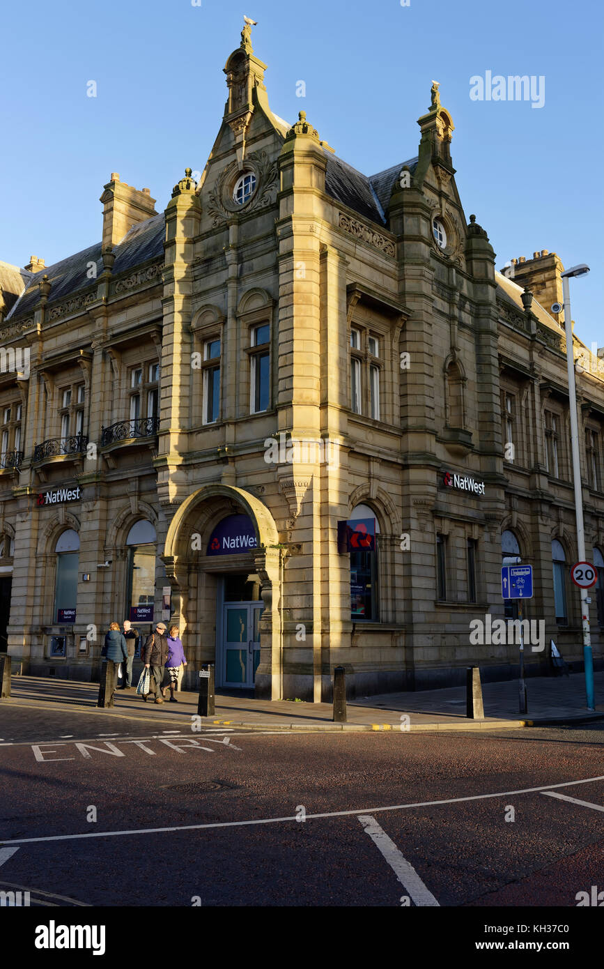 Nat west bank southport - Stock Image