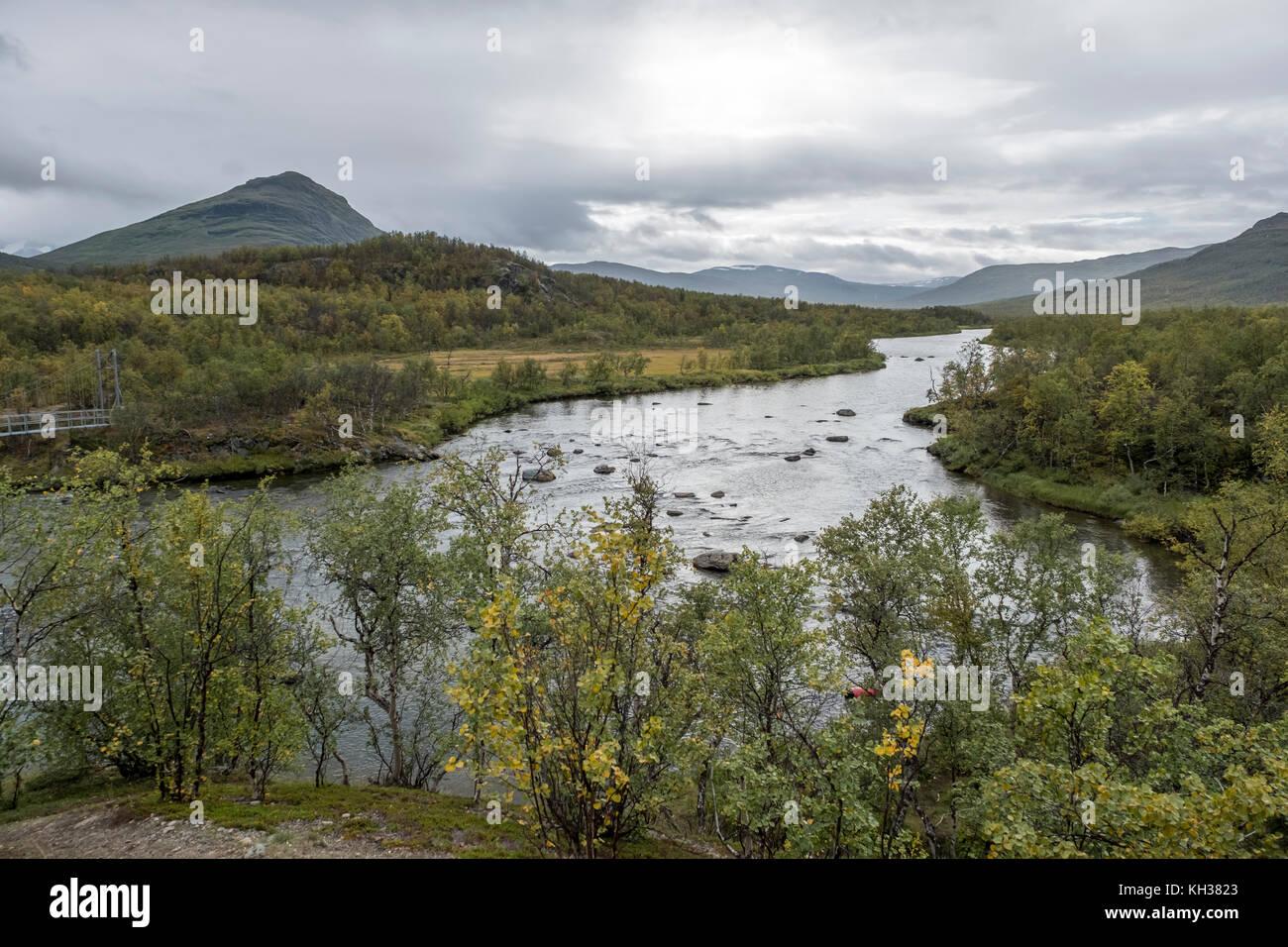 Kungsleden Trail, Sweden - Stock Image