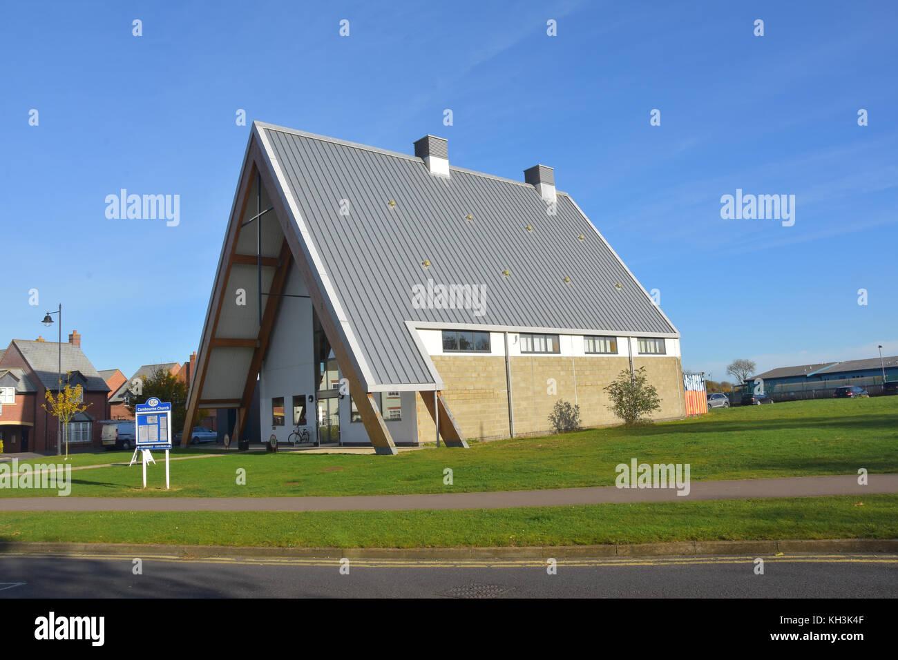 Multi-denominational church in Cambourne, Cambridgeshire - Stock Image