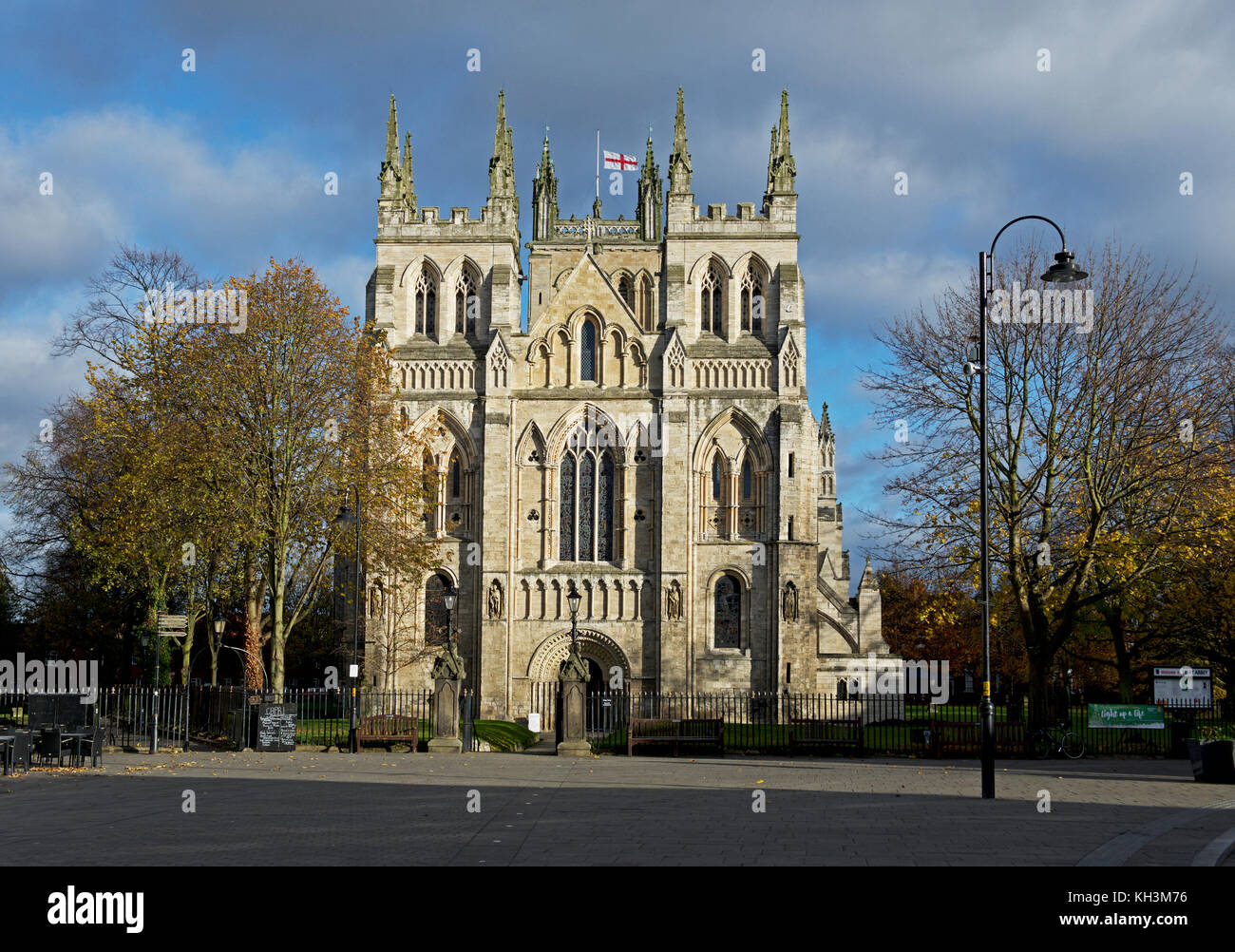 Selby Abbey, North Yorkshire, England UK - Stock Image