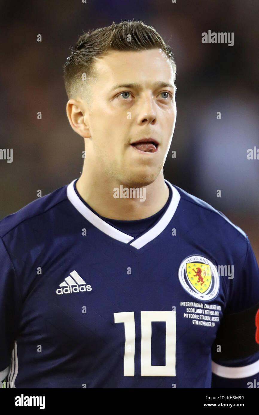 Scotland's Callum McGregor - Stock Image