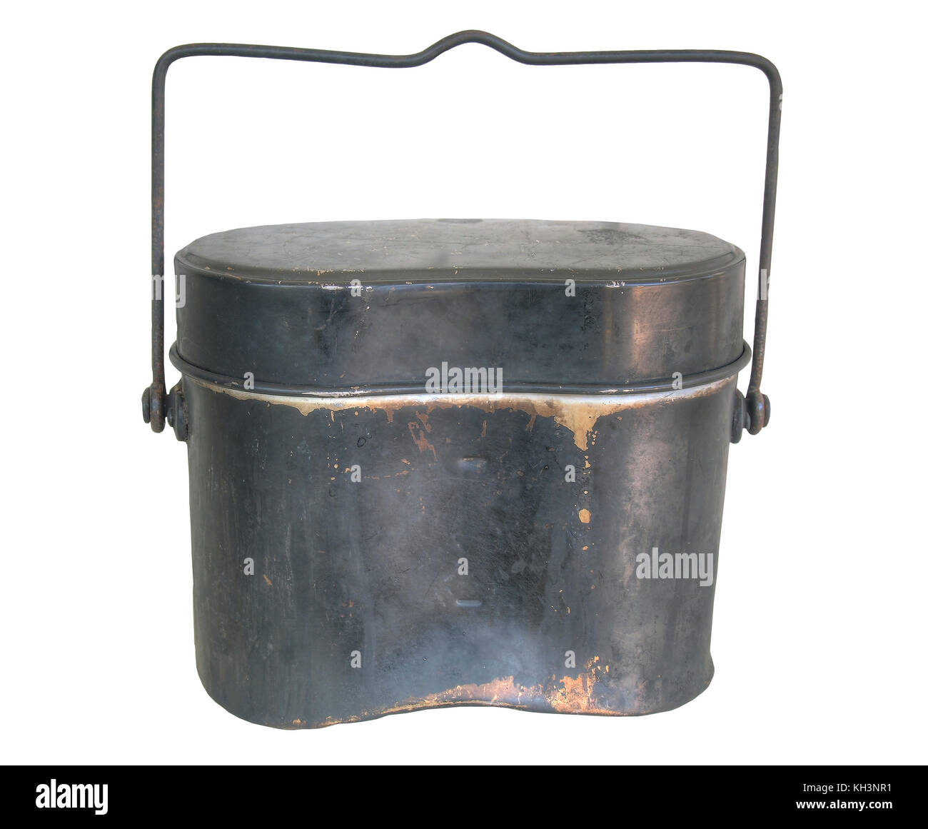 Isolated white / Mess kit  : vintage - Stock Image
