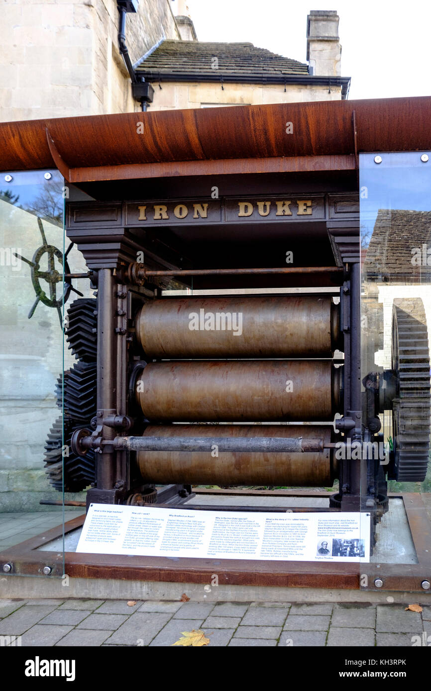 Around the small Wiltshire town of Bradford-on-Avon, wiltshire,England UK The Iron Duke - Stock Image