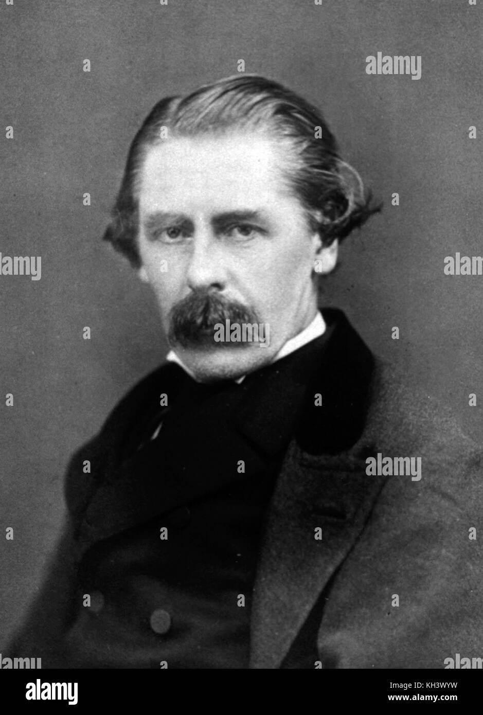 Sir Henry Thompson, 1st Baronet, British surgeon - Stock Image