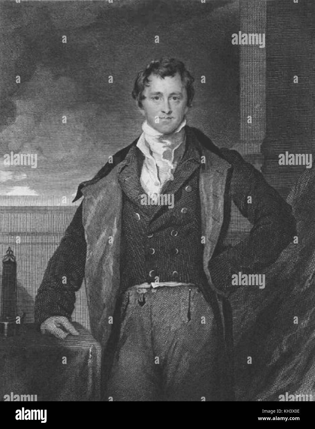 Sir Humphry Davy, 1st Baronet, chemist and inventor - Stock Image