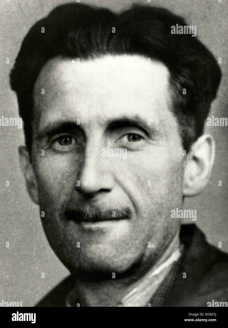 George Orwell, Eric Arthur Blair, George Orwell, English novelist - Stock Image