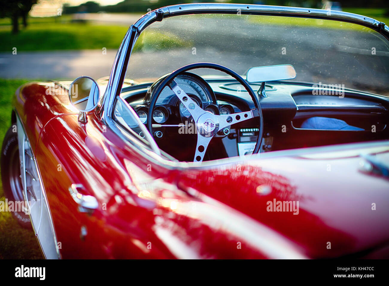 American Sports Cars Close Up High Resolution Stock Photography And Images Alamy