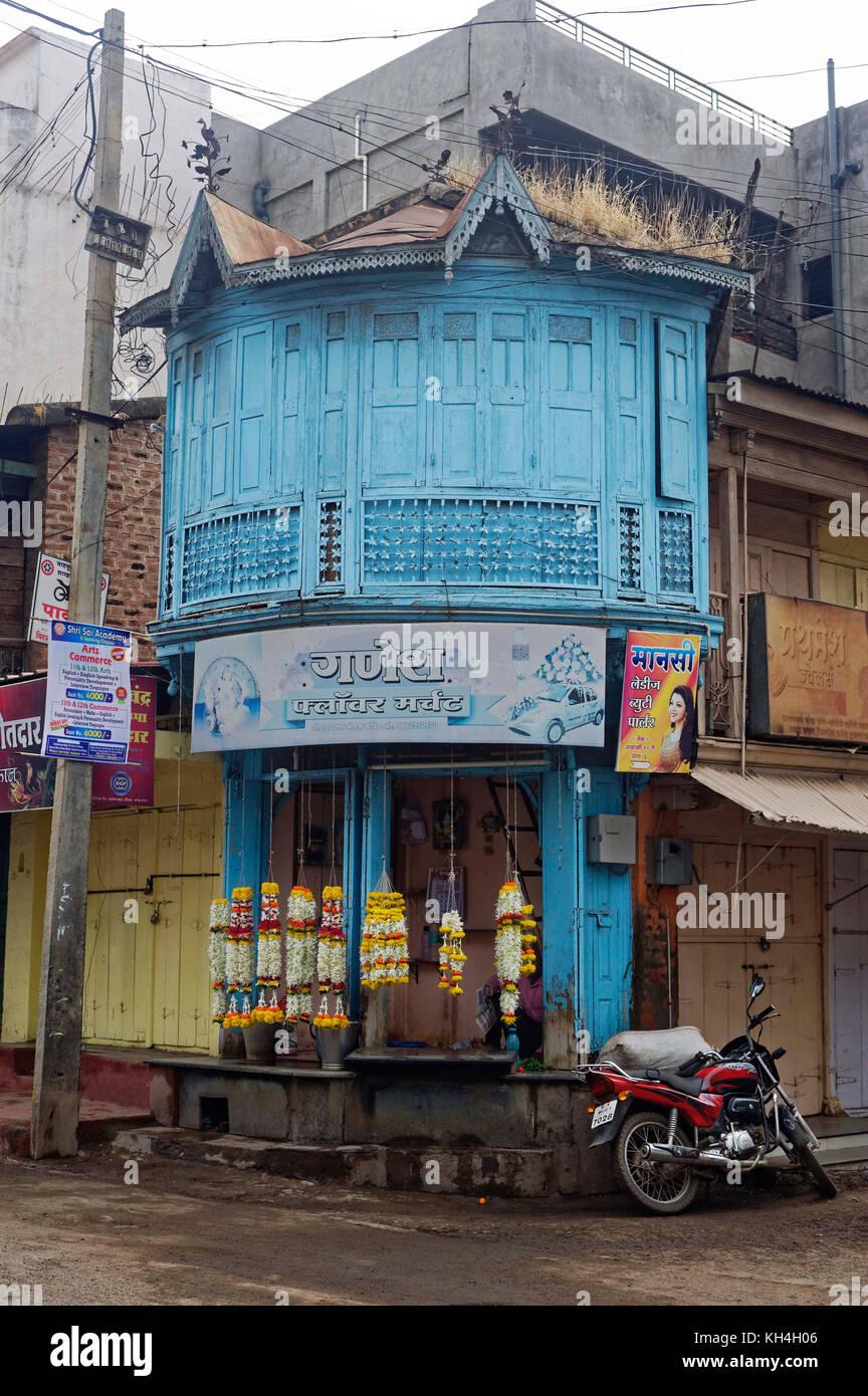 shop on mahatma Gandhi marg, miraj, Maharashtra, India, Asia - Stock Image