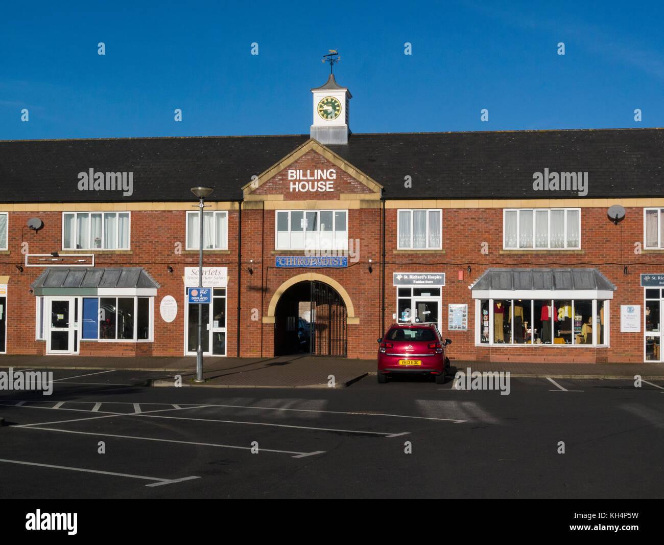 Billing House Pershore Market Worcestershire England UK - Stock Image