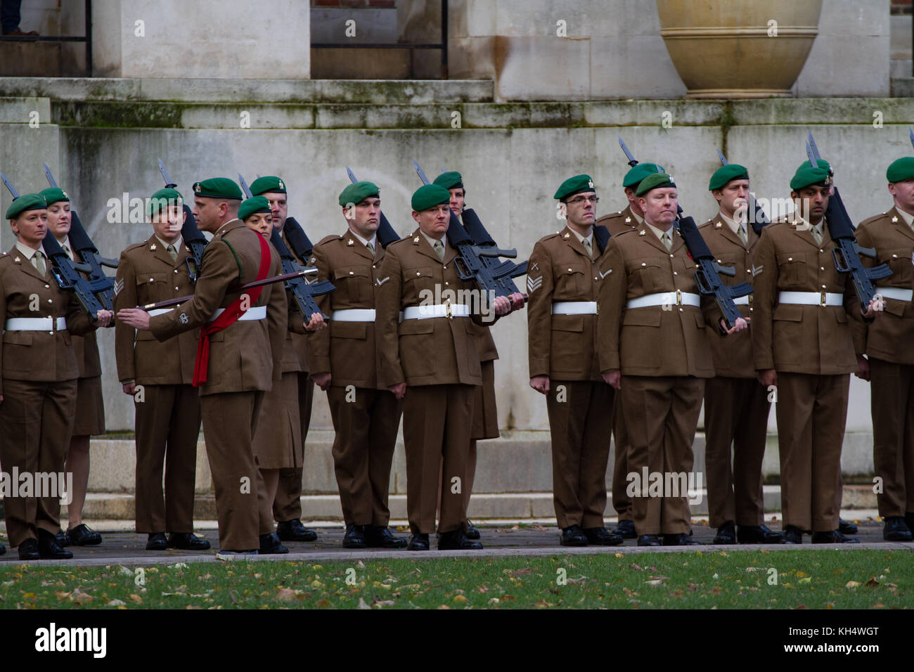 Remembrance Day Parade. Bristol 2017 - Stock Image