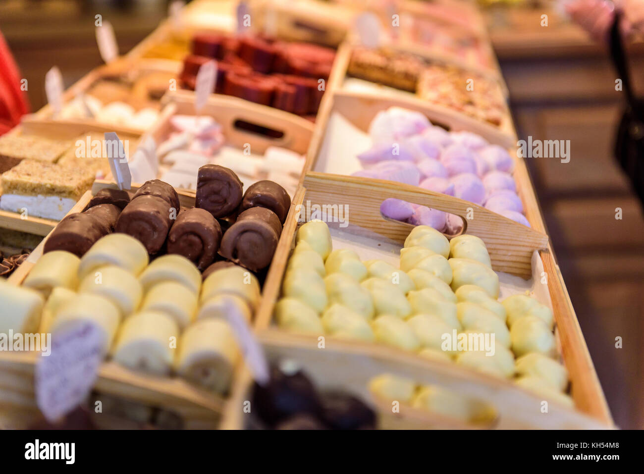 Russia, Kolomna. Traditional products in the Museum Pastila Factory Stock Photo