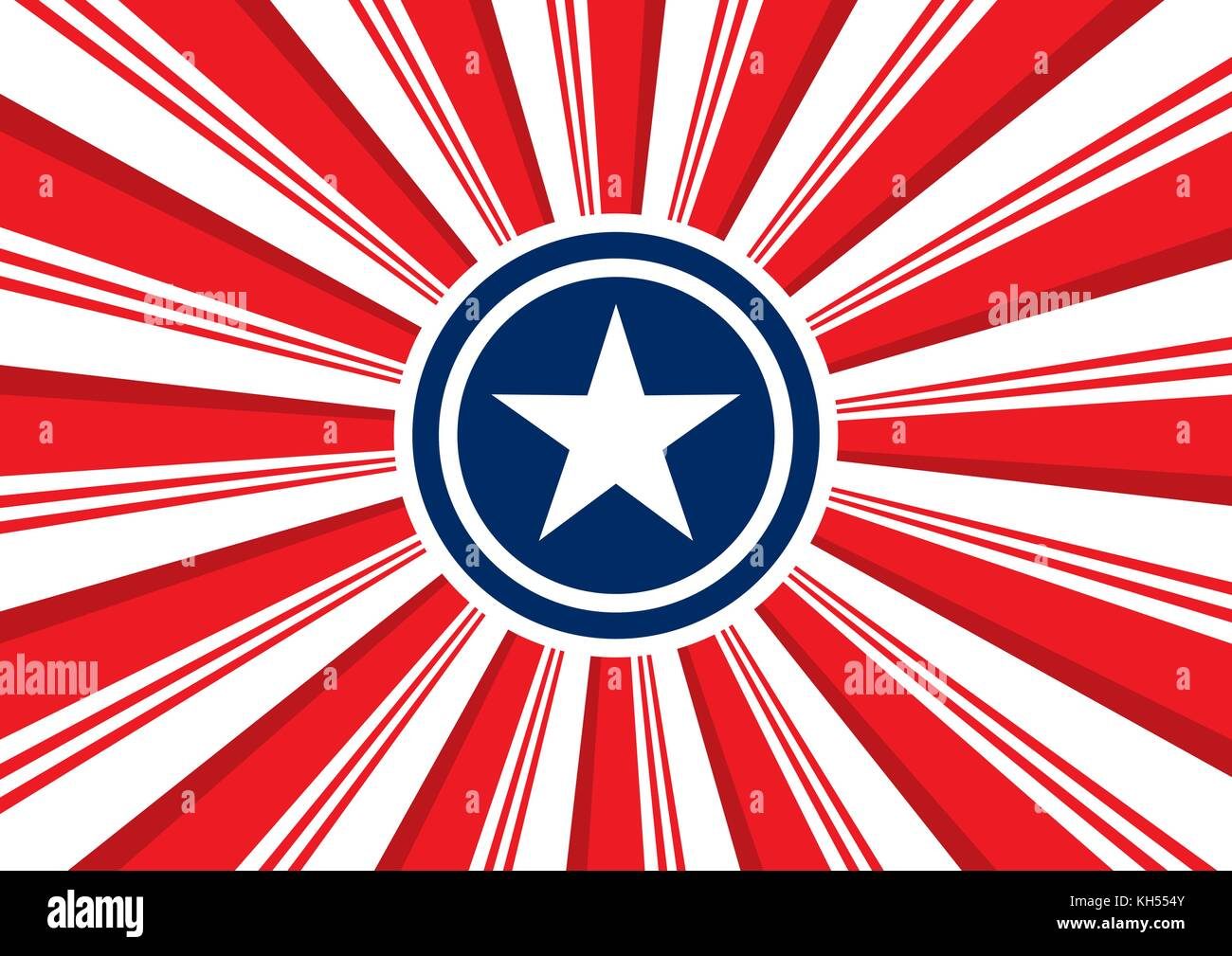 Patriotic Background The Stylized Image Of The Symbols Of The