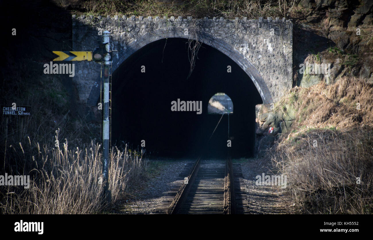 Churnet Valley Railway - Stock Image