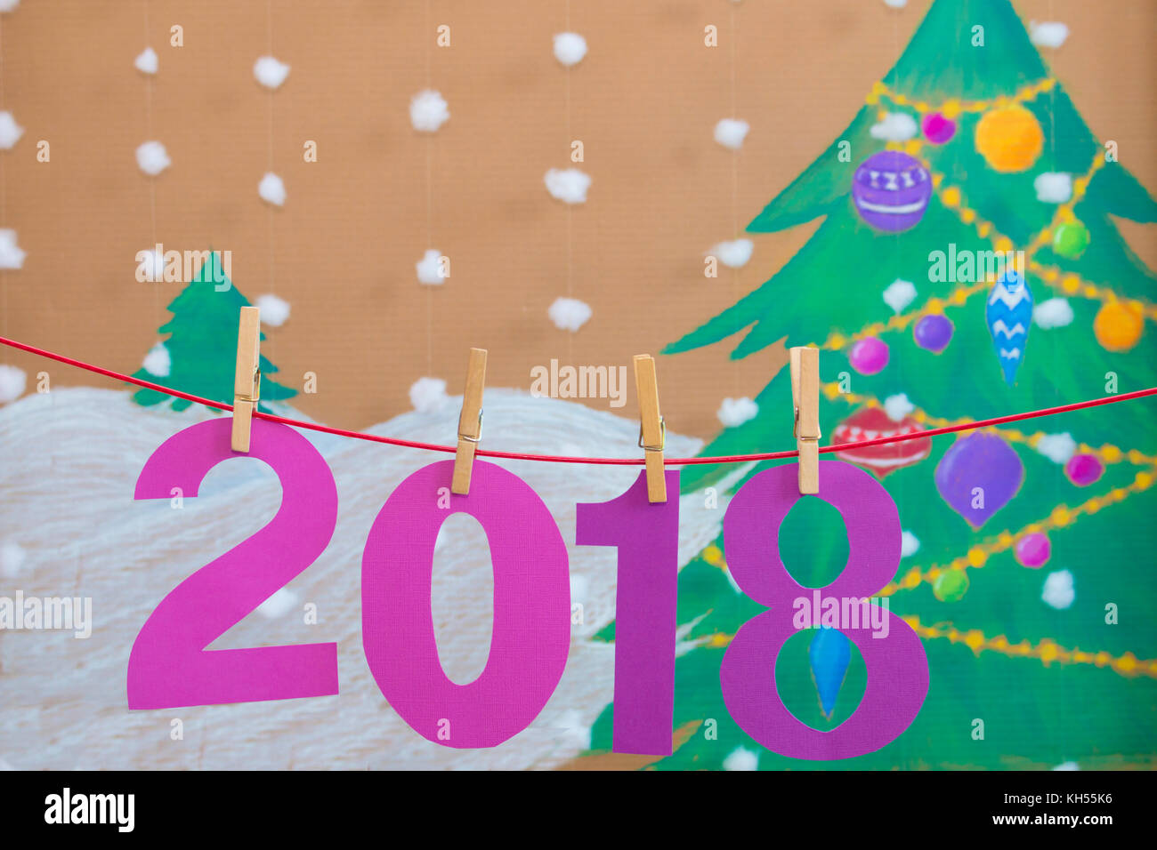 2018 Background Stock Photos 2018 Background Stock Images