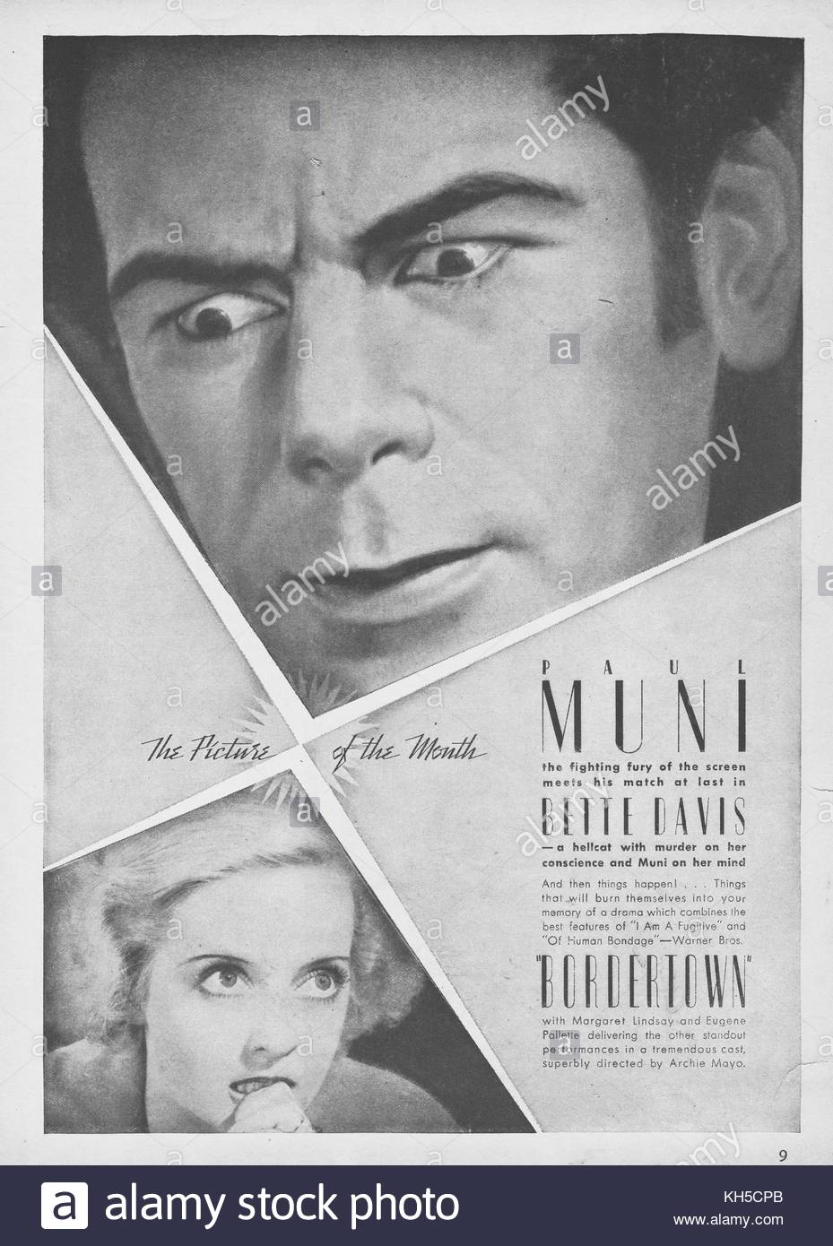 Bordertown 1938 American Film With Paul Muni And Bette Davis About