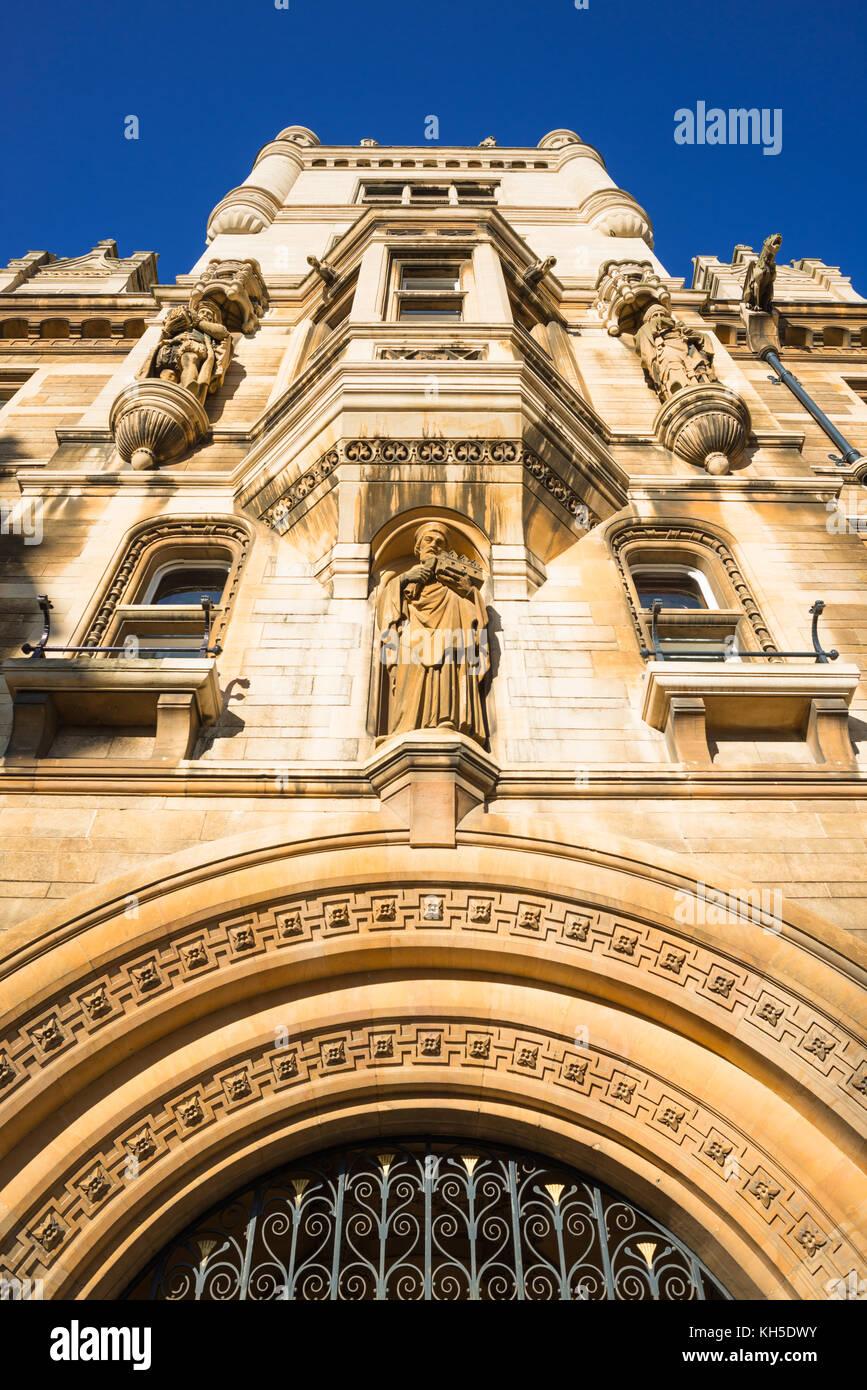 Gonville and Caius college in Cambridge city centre, Cambridgeshire, England, UK. - Stock Image