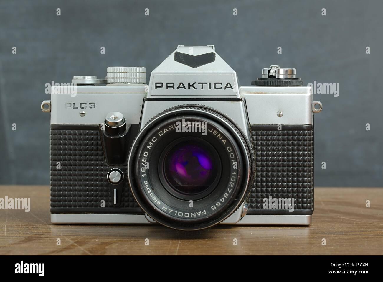 Vintage Praktica Camera - Stock Image