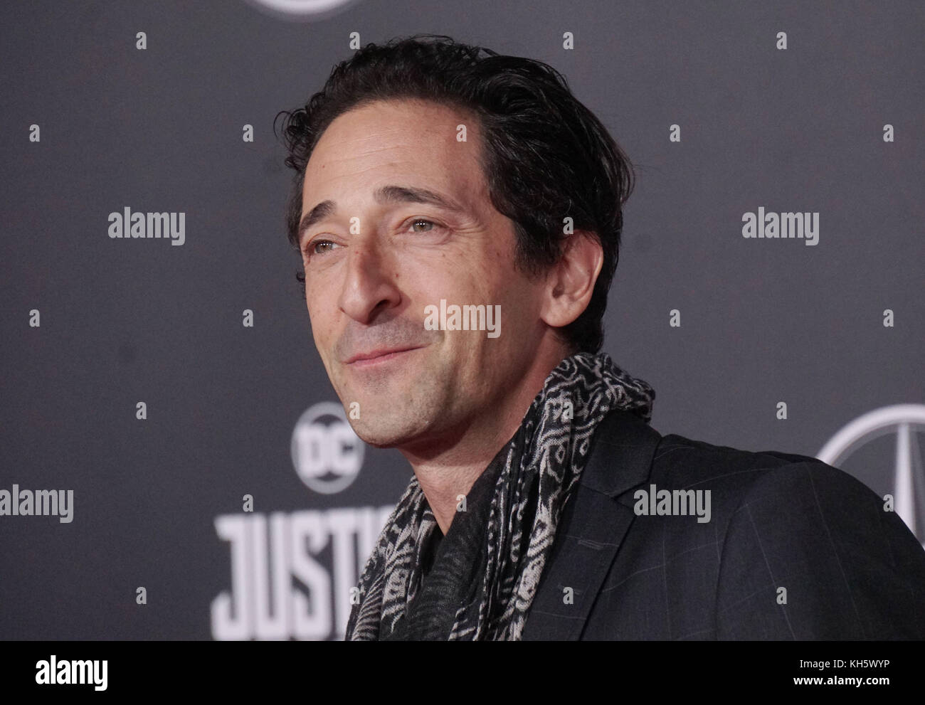 Los Angeles, USA. 13th Nov, 2017. Adrien Brody 022 attend the premiere of Warner Bros. Pictures' 'Justice - Stock Image