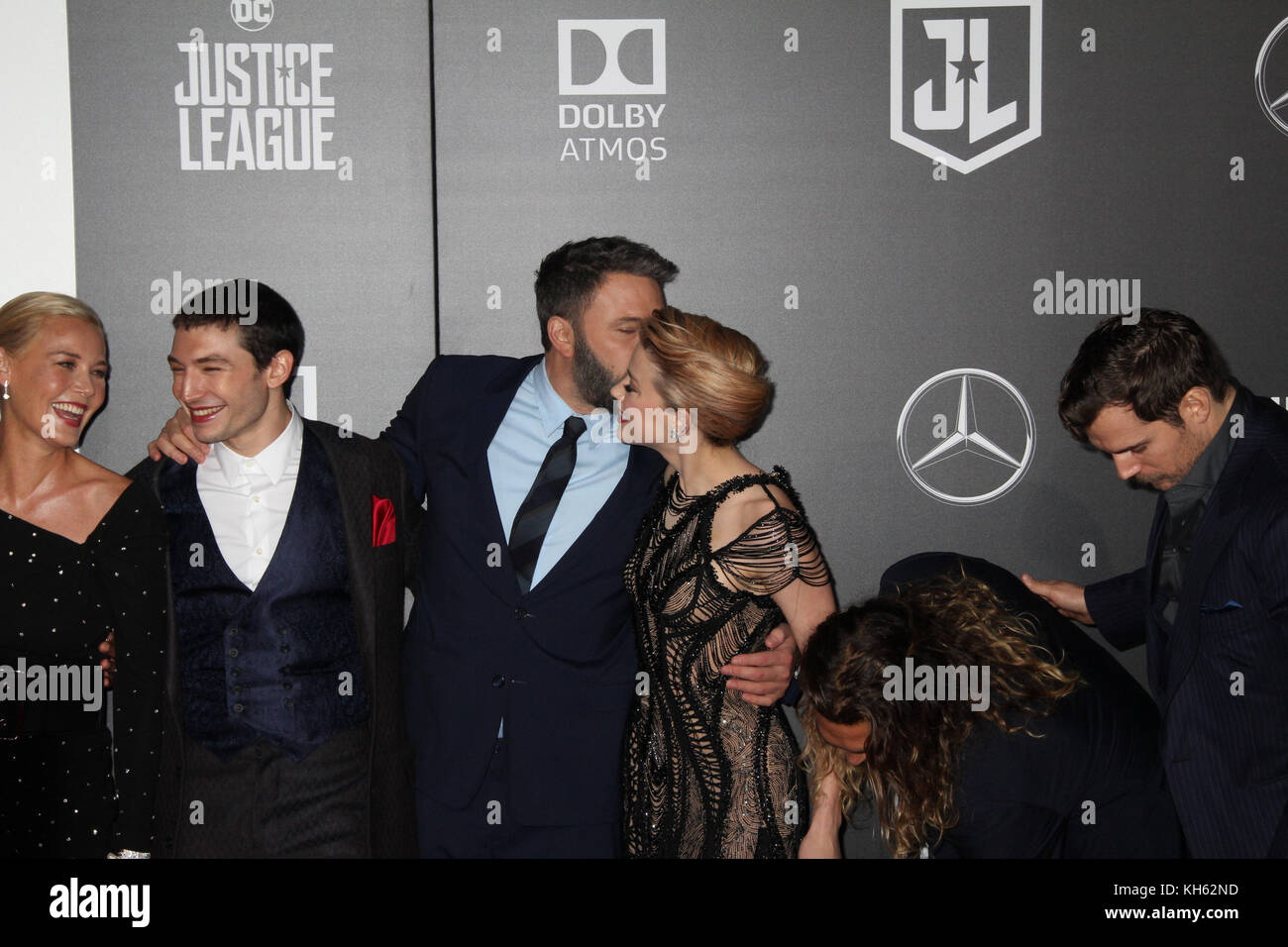 11/13/2017 The World Premiere of 'Justice League' held at The Dolby Theater in Hollywood, CA  Photo: Cronos/Hollywood - Stock Image