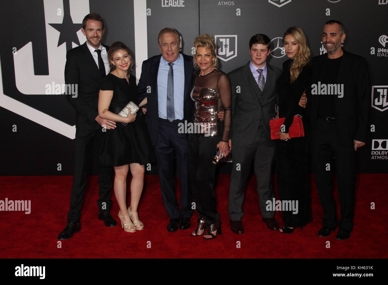 Chuck Roven  11/13/2017 The World Premiere of 'Justice League' held at The Dolby Theater in Hollywood, CA - Stock Image