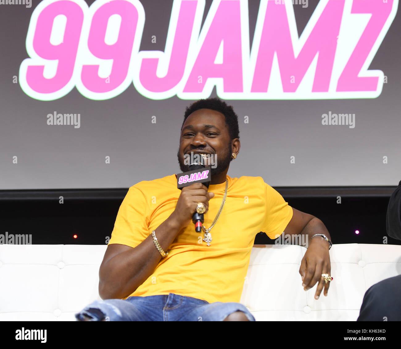 Kranium At Jamz Live Radio Station 99 On November 13 2017 In Hollywood Florida Credit Mpi04 Media Punch Alamy News