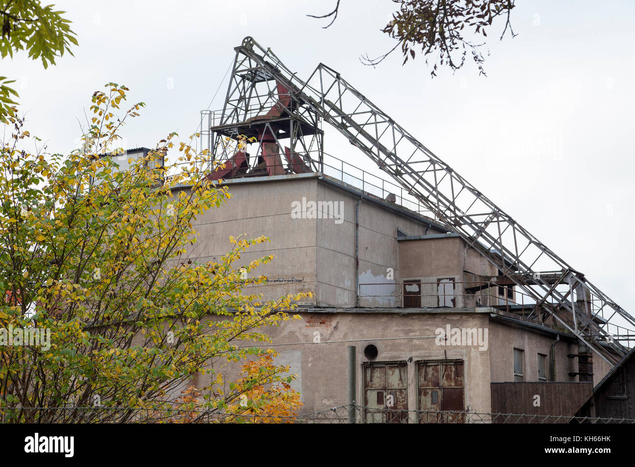 HÄLLEFORSNÄS Abandoned iron industry in Södermanland,after 350 year the plant was closed down. - Stock Image