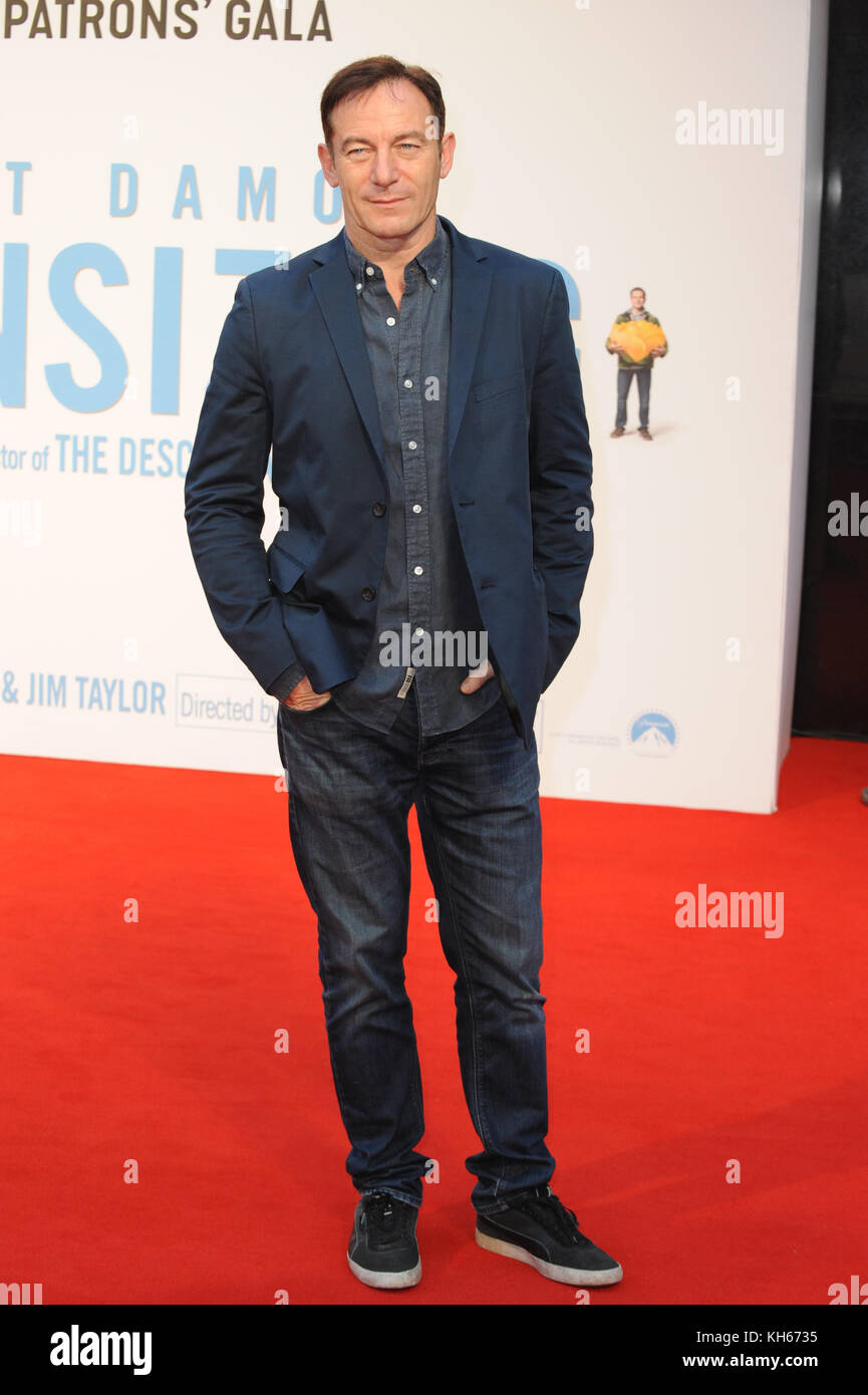 BFI London Film Festival - 'Downsizing' - Gala Screening  Featuring: Jason Isaacs Where: London, United - Stock Image