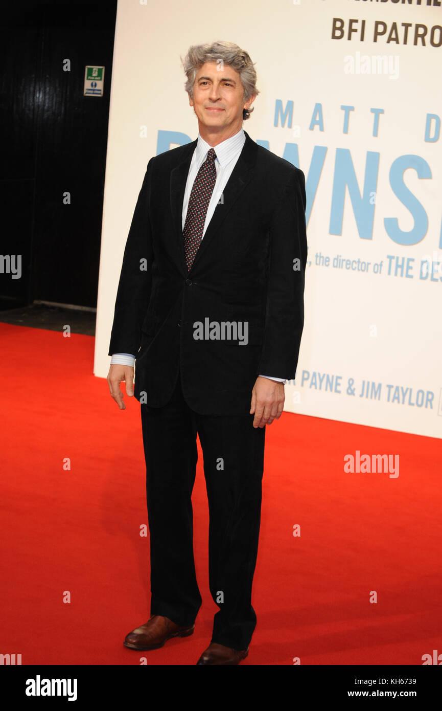 BFI London Film Festival - 'Downsizing' - Gala Screening  Featuring: Alexander Payne Where: London, United - Stock Image