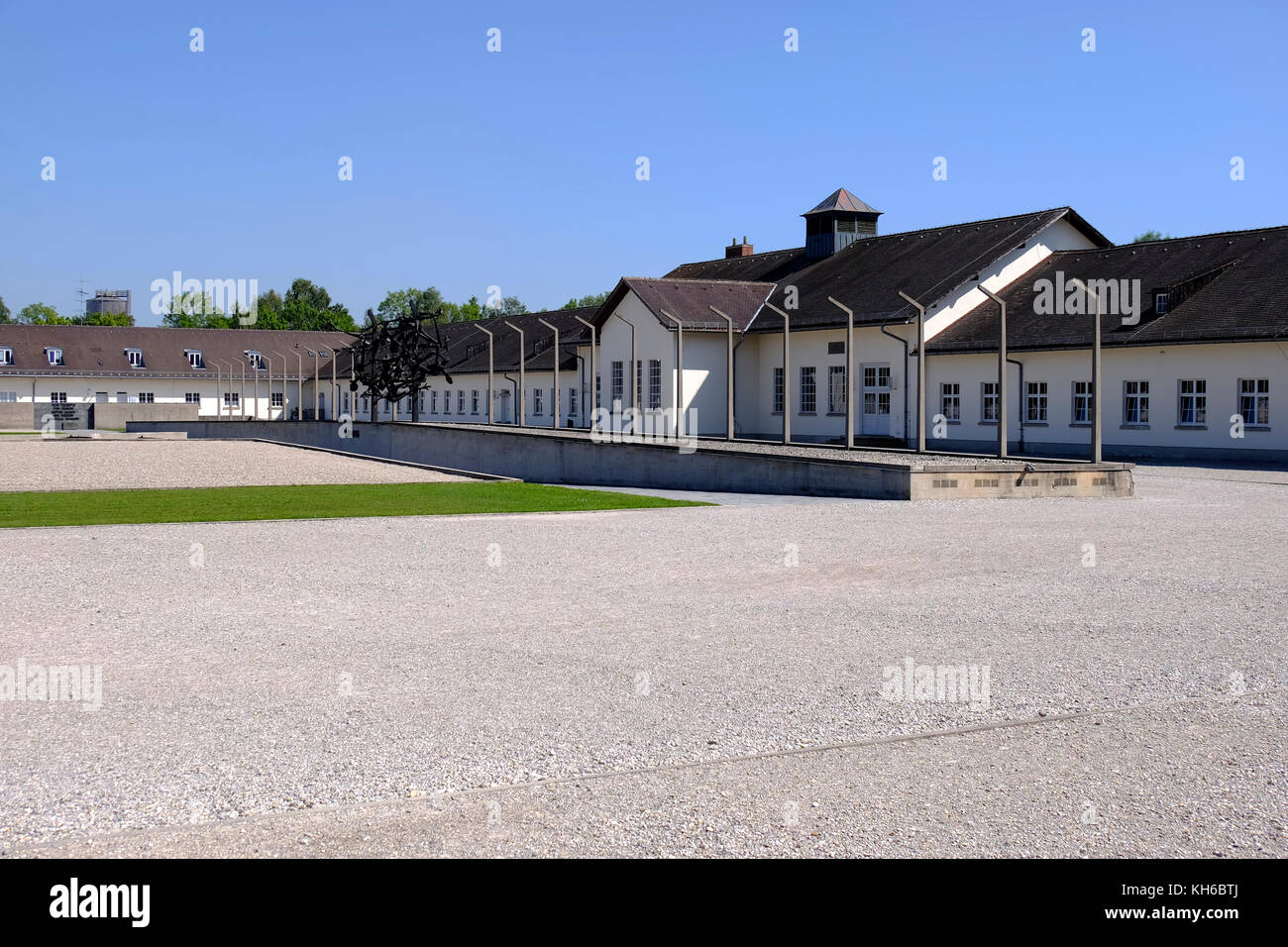 Dachau concentration camp, Germany. - Stock Image