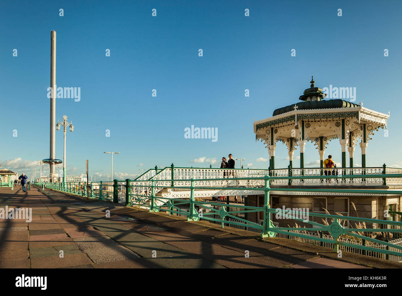 Brighton Bandstand, East Sussex, England. - Stock Image