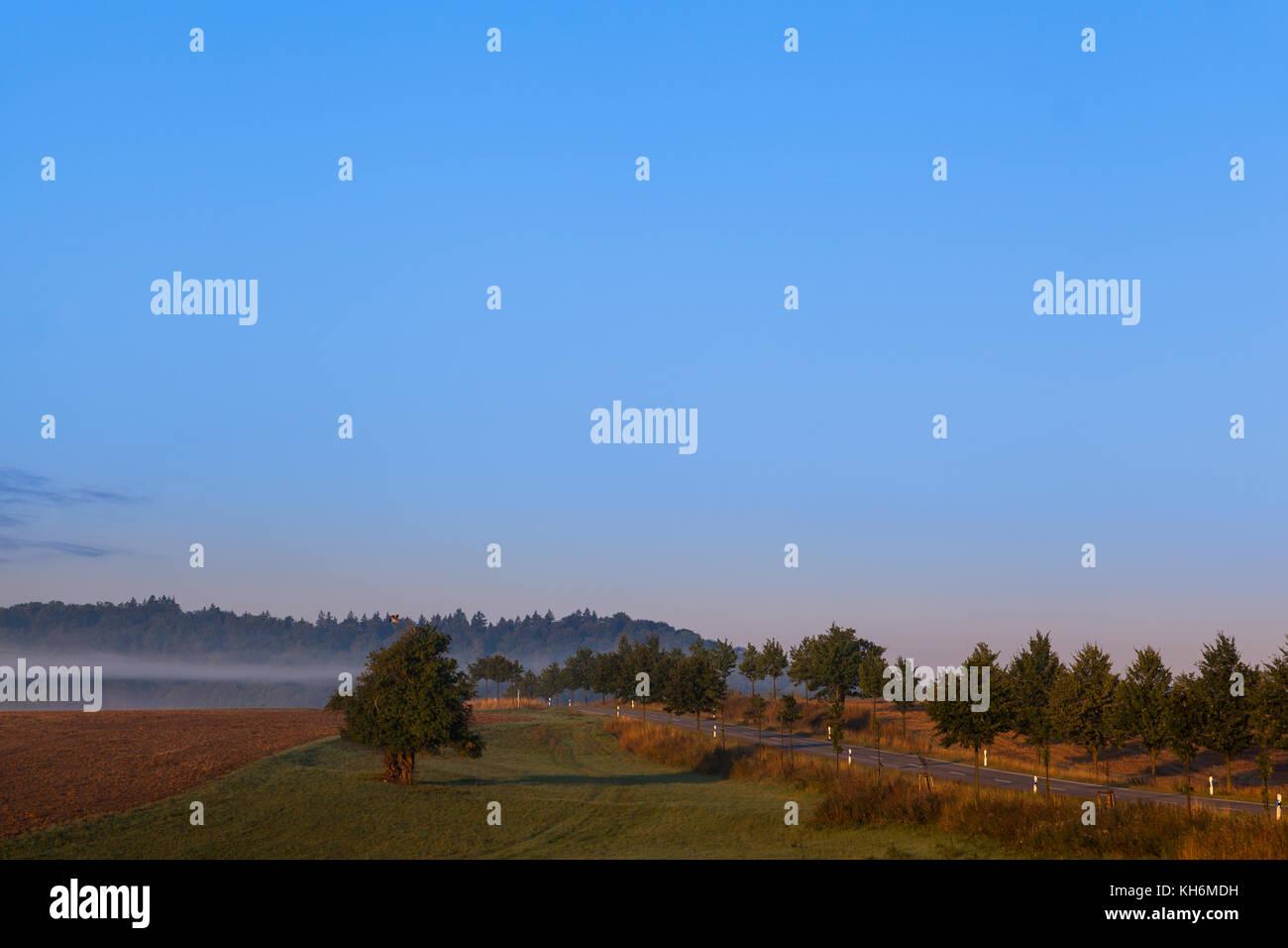 Sonnenaufgang Landschaftsaufnahme - Stock Image
