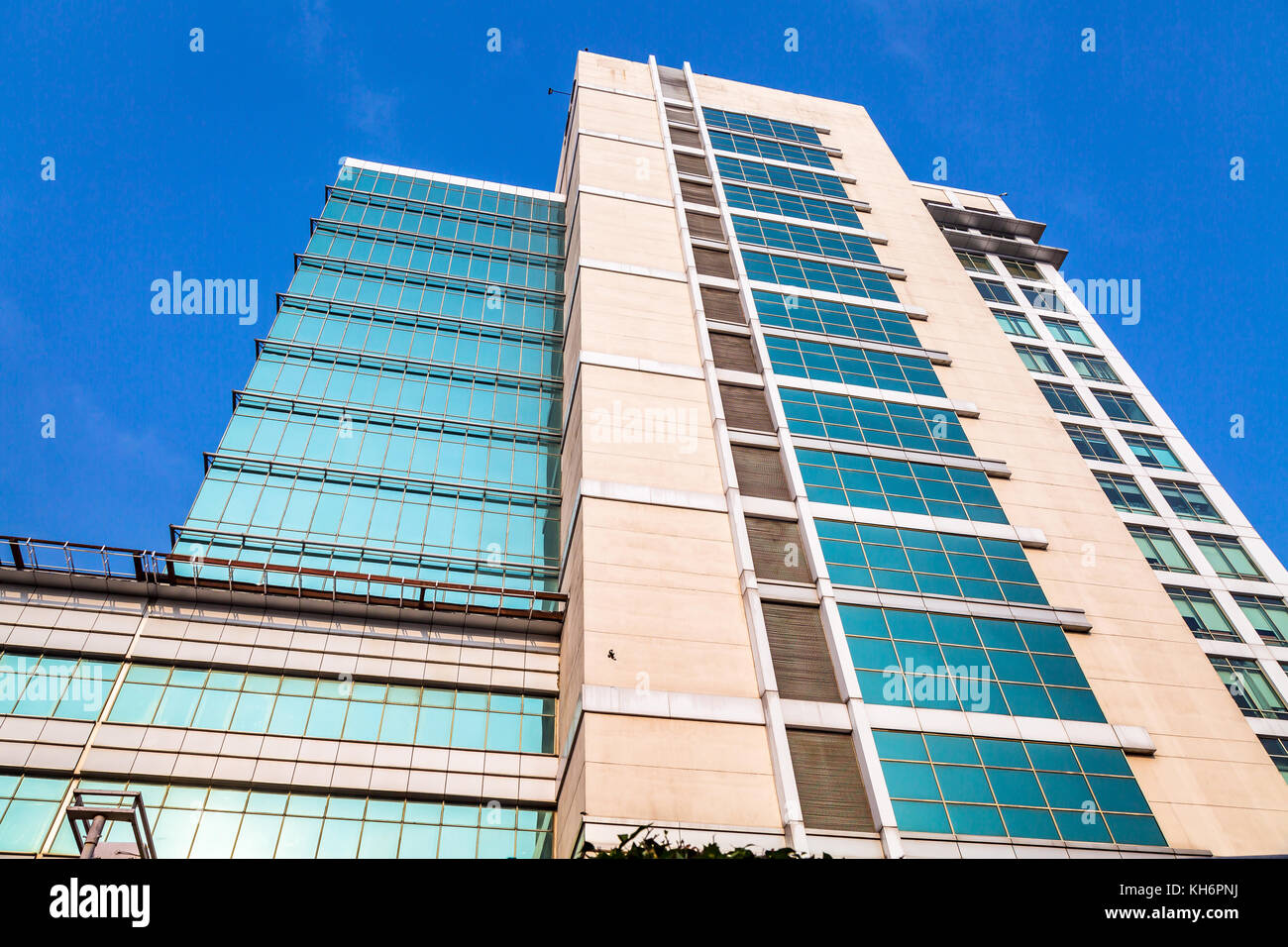 Commercial Office Building Exterior With Modern Architectural Design At  Rajarhat Area Of Kolkata India