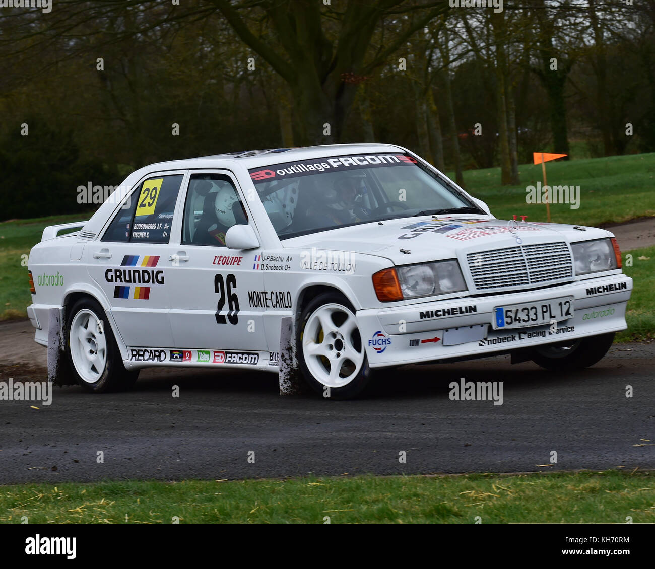 Steve Magson, Mercedes-Benz 190e Cosworth, Race Retro, Rally stage ...