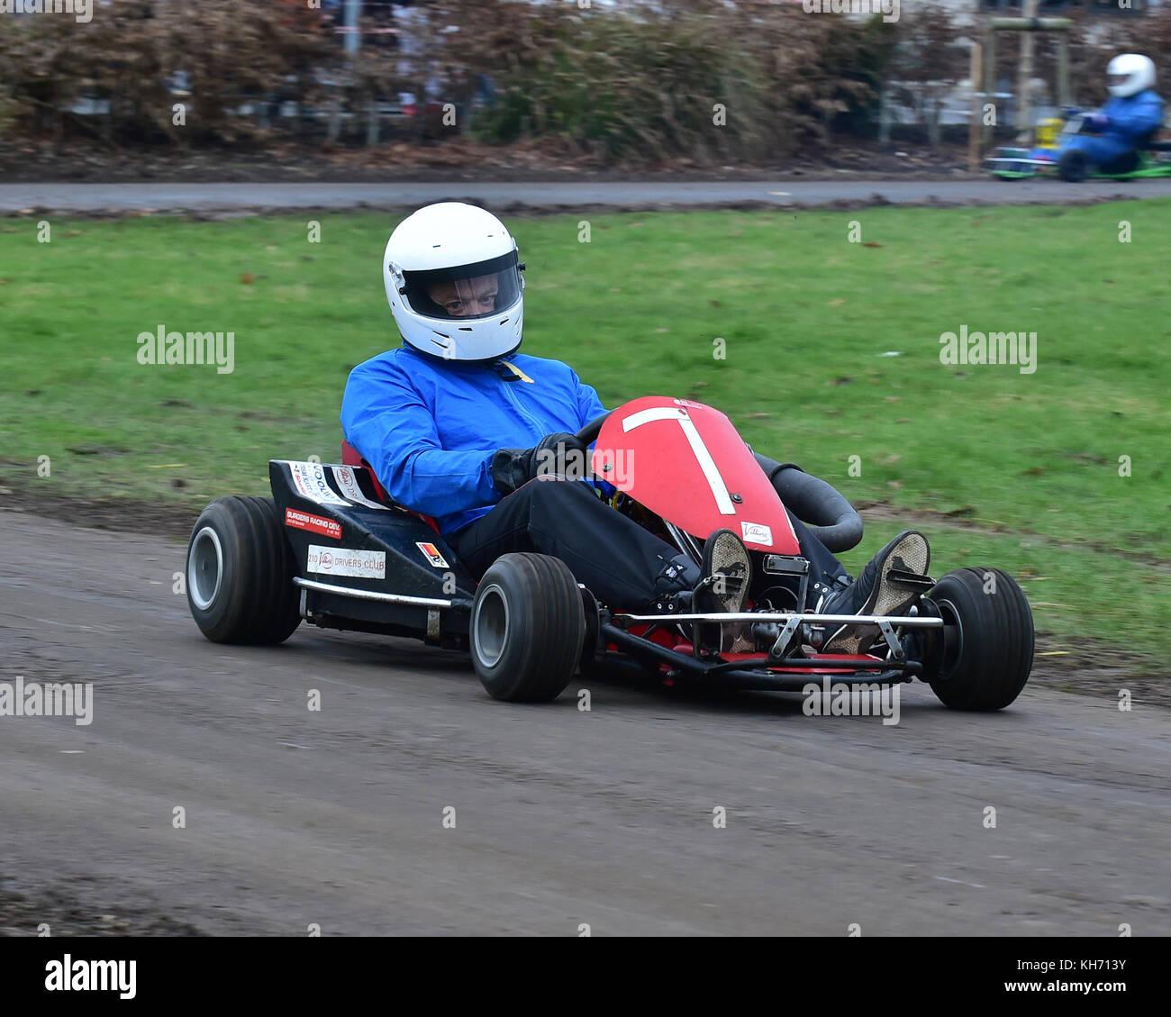British Historic Kart Club Stock Photos & British Historic